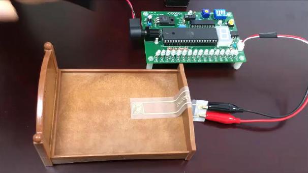 Stretchable pressure sensor